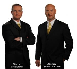 McMahan Law Firm Attorneys Brent Burks and James Kennamer