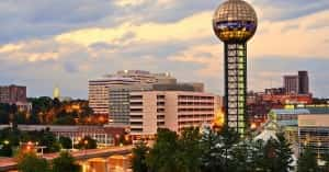 Sunsphere - World's Fair Park - Knoxville, Tennessee