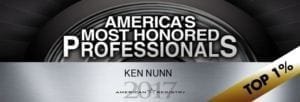 America's Most Honored Professionals Logo