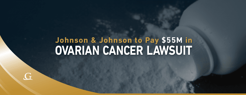 Ovarian Cancer Lawsuit Stock Photo