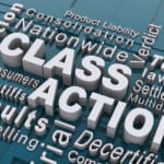 Class Action Words Stock Photo